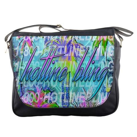 Drake 1 800 Hotline Bling Messenger Bags