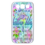 Drake 1 800 Hotline Bling Samsung Galaxy S III Case (White) Front