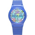 Drake 1 800 Hotline Bling Round Plastic Sport Watch (S) Front