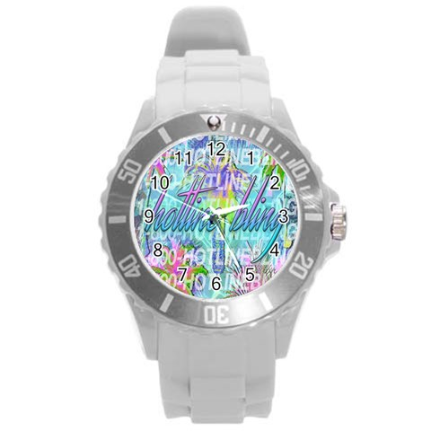Drake 1 800 Hotline Bling Round Plastic Sport Watch (L)
