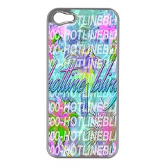 Drake 1 800 Hotline Bling Apple iPhone 5 Case (Silver)