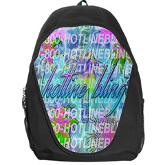 Drake 1 800 Hotline Bling Backpack Bag
