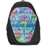 Drake 1 800 Hotline Bling Backpack Bag Front