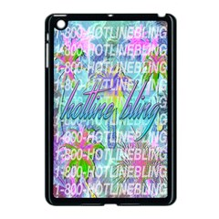 Drake 1 800 Hotline Bling Apple iPad Mini Case (Black)