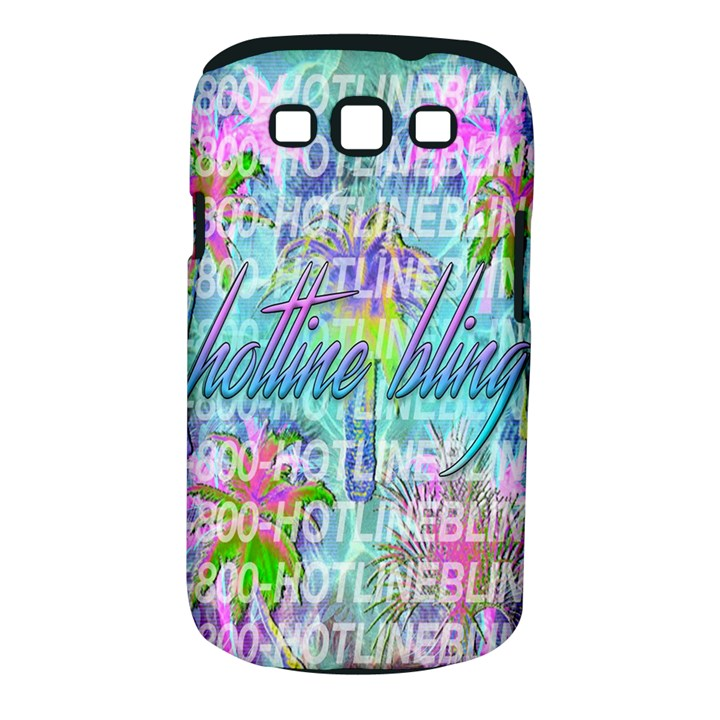Drake 1 800 Hotline Bling Samsung Galaxy S III Classic Hardshell Case (PC+Silicone)
