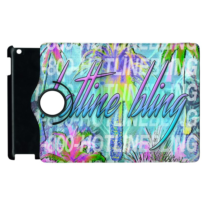 Drake 1 800 Hotline Bling Apple iPad 2 Flip 360 Case