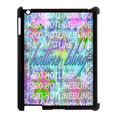 Drake 1 800 Hotline Bling Apple iPad 3/4 Case (Black)