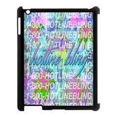 Drake 1 800 Hotline Bling Apple iPad 3/4 Case (Black)