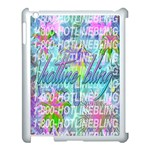 Drake 1 800 Hotline Bling Apple iPad 3/4 Case (White) Front