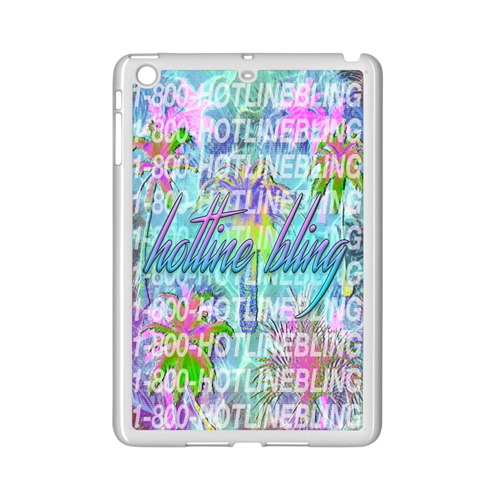 Drake 1 800 Hotline Bling iPad Mini 2 Enamel Coated Cases