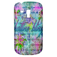 Drake 1 800 Hotline Bling Samsung Galaxy S3 MINI I8190 Hardshell Case