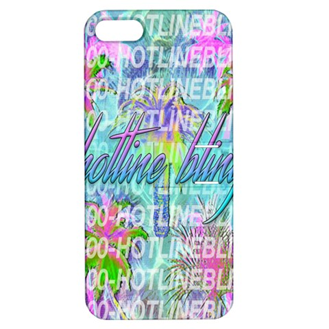 Drake 1 800 Hotline Bling Apple iPhone 5 Hardshell Case with Stand