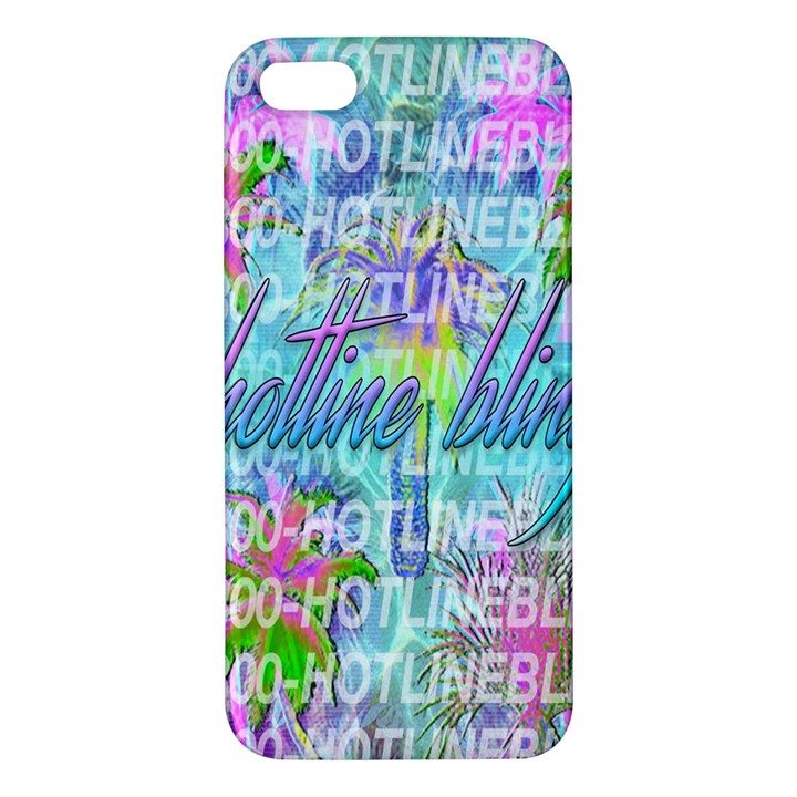 Drake 1 800 Hotline Bling Apple iPhone 5 Premium Hardshell Case