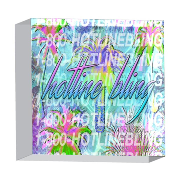 Drake 1 800 Hotline Bling 5  x 5  Acrylic Photo Blocks