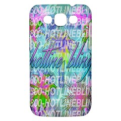 Drake 1 800 Hotline Bling Samsung Galaxy Win I8550 Hardshell Case