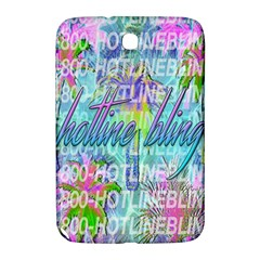 Drake 1 800 Hotline Bling Samsung Galaxy Note 8.0 N5100 Hardshell Case