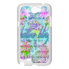 Drake 1 800 Hotline Bling Samsung Galaxy Note 2 Case (White)