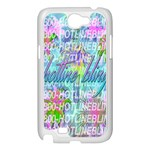 Drake 1 800 Hotline Bling Samsung Galaxy Note 2 Case (White) Front