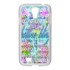 Drake 1 800 Hotline Bling Samsung GALAXY S4 I9500/ I9505 Case (White)