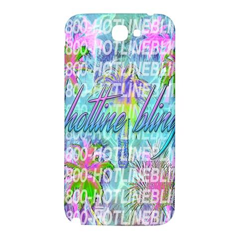 Drake 1 800 Hotline Bling Samsung Note 2 N7100 Hardshell Back Case