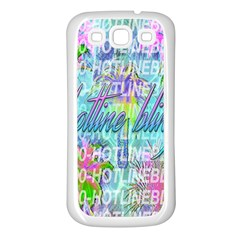 Drake 1 800 Hotline Bling Samsung Galaxy S3 Back Case (White)