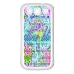 Drake 1 800 Hotline Bling Samsung Galaxy S3 Back Case (White) Front