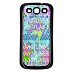 Drake 1 800 Hotline Bling Samsung Galaxy S3 Back Case (Black) Front