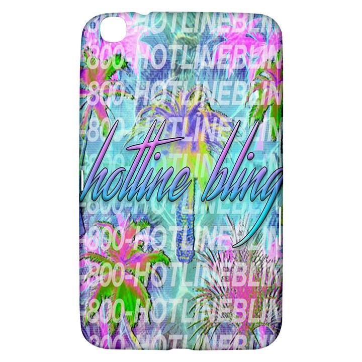 Drake 1 800 Hotline Bling Samsung Galaxy Tab 3 (8 ) T3100 Hardshell Case