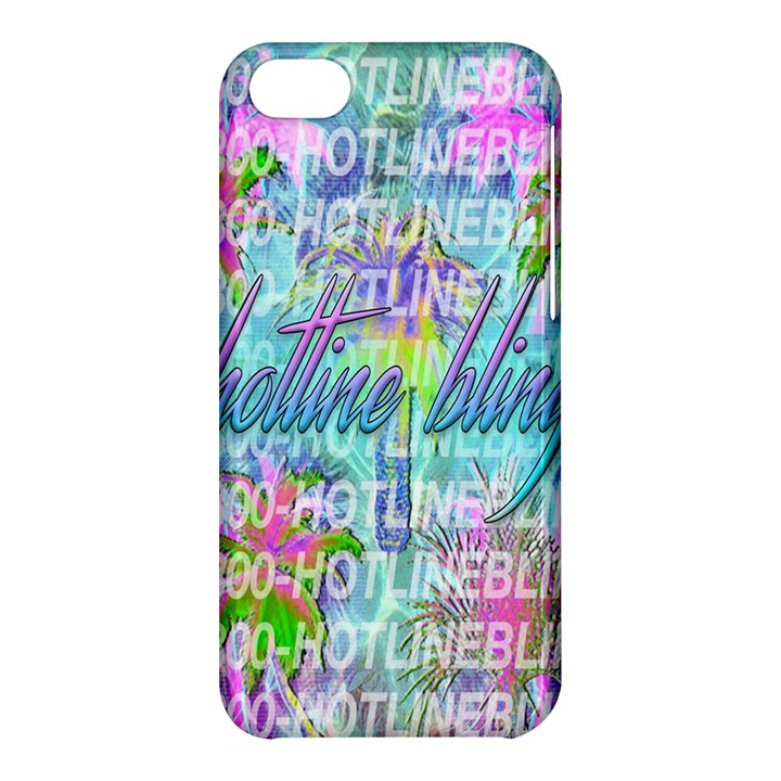 Drake 1 800 Hotline Bling Apple iPhone 5C Hardshell Case