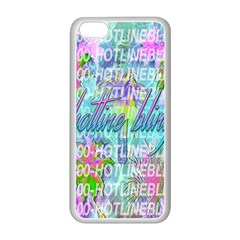 Drake 1 800 Hotline Bling Apple iPhone 5C Seamless Case (White)