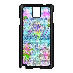 Drake 1 800 Hotline Bling Samsung Galaxy Note 3 N9005 Case (Black)