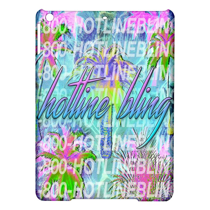 Drake 1 800 Hotline Bling iPad Air Hardshell Cases
