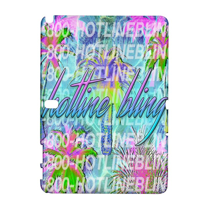 Drake 1 800 Hotline Bling Samsung Galaxy Note 10.1 (P600) Hardshell Case