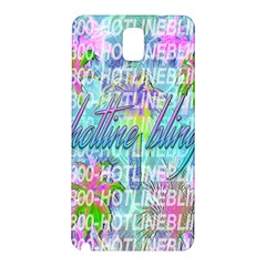 Drake 1 800 Hotline Bling Samsung Galaxy Note 3 N9005 Hardshell Back Case