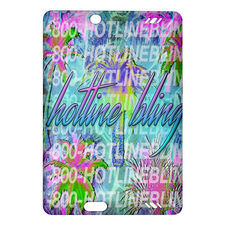 Drake 1 800 Hotline Bling Amazon Kindle Fire HD (2013) Hardshell Case
