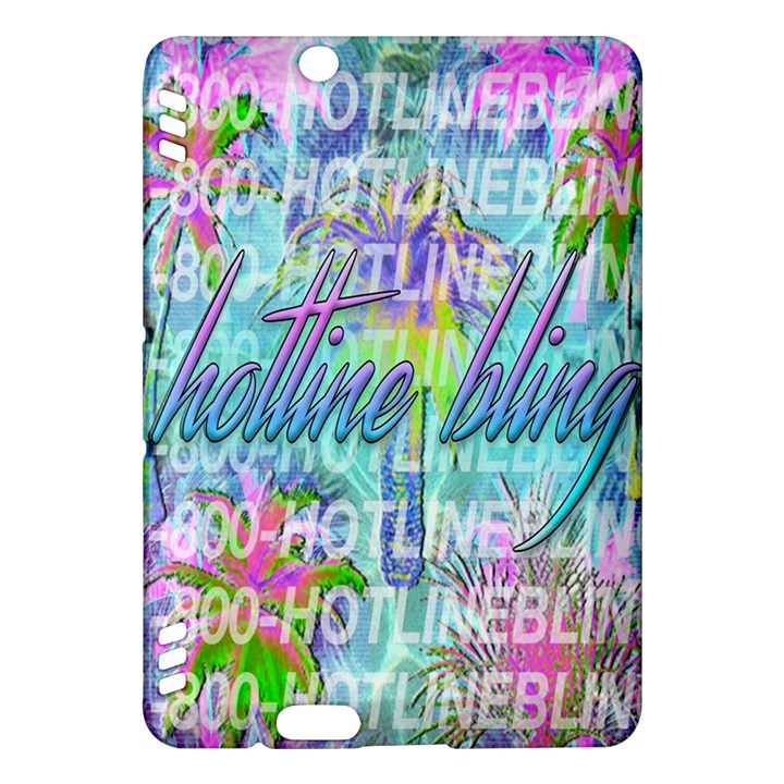 Drake 1 800 Hotline Bling Kindle Fire HDX Hardshell Case