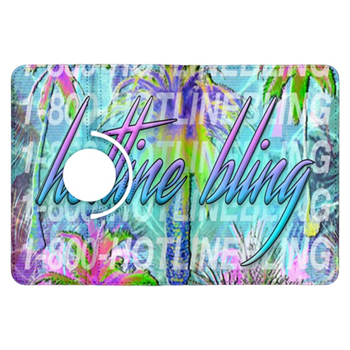 Drake 1 800 Hotline Bling Kindle Fire HDX Flip 360 Case