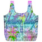 Drake 1 800 Hotline Bling Full Print Recycle Bags (L)  Front