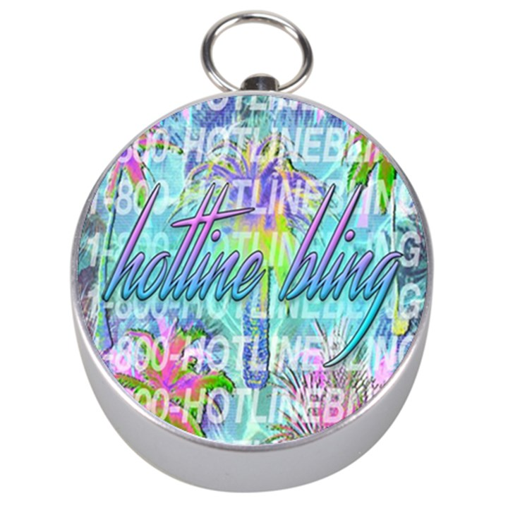 Drake 1 800 Hotline Bling Silver Compasses