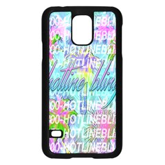 Drake 1 800 Hotline Bling Samsung Galaxy S5 Case (Black)