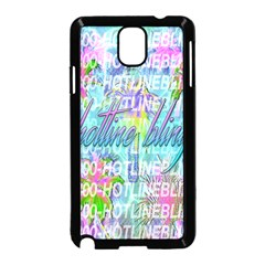 Drake 1 800 Hotline Bling Samsung Galaxy Note 3 Neo Hardshell Case (Black)