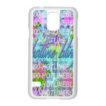 Drake 1 800 Hotline Bling Samsung Galaxy S5 Case (White) Front