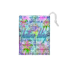 Drake 1 800 Hotline Bling Drawstring Pouches (Small)