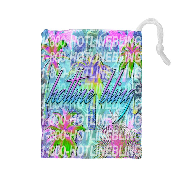 Drake 1 800 Hotline Bling Drawstring Pouches (Large)