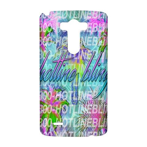 Drake 1 800 Hotline Bling LG G3 Hardshell Case