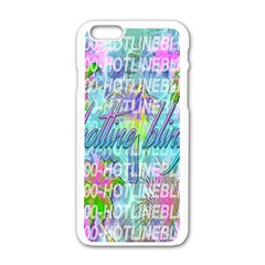 Drake 1 800 Hotline Bling Apple Iphone 6/6s White Enamel Case