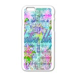 Drake 1 800 Hotline Bling Apple iPhone 6/6S White Enamel Case Front