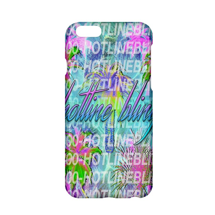 Drake 1 800 Hotline Bling Apple iPhone 6/6S Hardshell Case