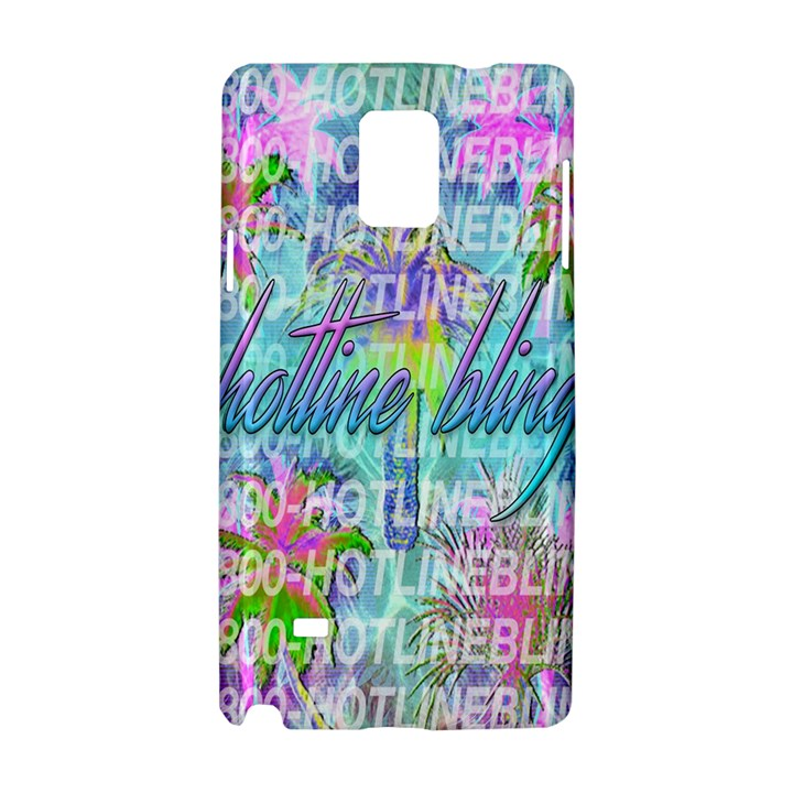 Drake 1 800 Hotline Bling Samsung Galaxy Note 4 Hardshell Case