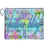 Drake 1 800 Hotline Bling Canvas Cosmetic Bag (XXXL) Front
